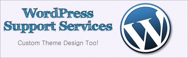 WordPress Services Support