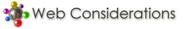 Web Considerations